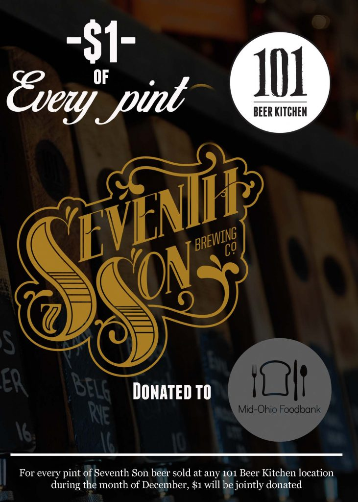 101 Beer Kitchen Amp Seventh Son Mid Ohio Foodbank A