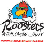 Roosters - all locations are participating in Food Fights Hunger